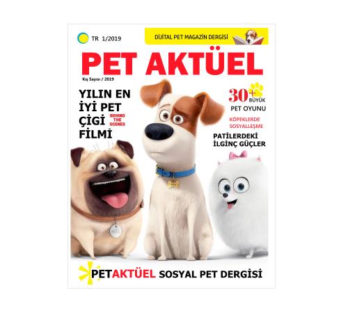 Pet Aktüel Dergisi Yayında!